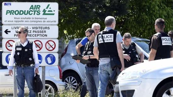 One killed in France terror attack, severed head found with message