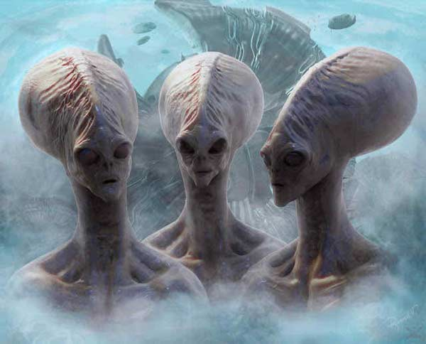 5 alien species in contact with earth right now