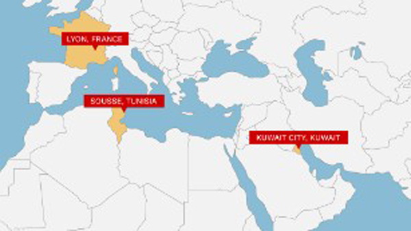 ISIS claims terror attacks on 3 continents