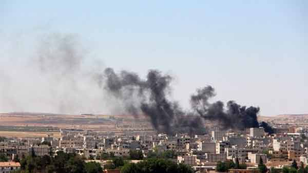 IS in deadly return to Syria's Kobane