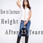 Is it possible to increase height after 25