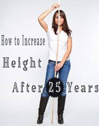 Is it possible to increase height after 25?