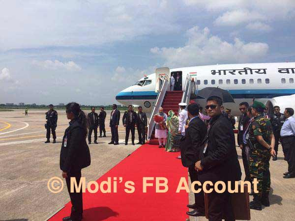 Modi leaves for Delhi