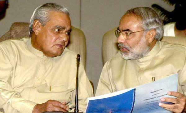 Modi to receive award on behalf of Vajpayee