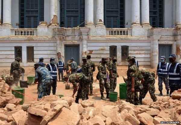 Historic Nepal sites set to reopen after quake