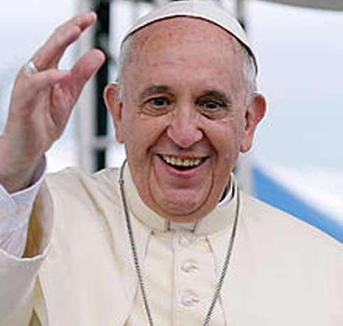 Pope Francis arrives in Central African Republic