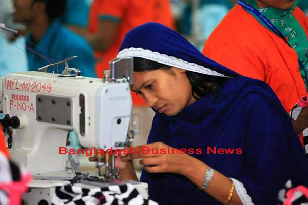 Bangladesh's export grows 4.0% in July-April