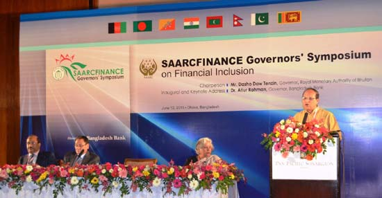 SAARCFINANCE central banks advised to introduce new products for boosting financial inclusion