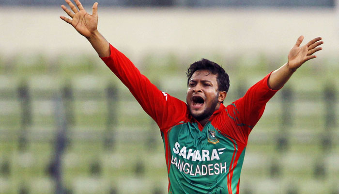 Shakib regains top ODI all rounder position