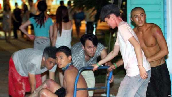500 injured in Taiwan park blast