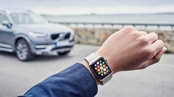 Do you believe, Apple Watch can control car!