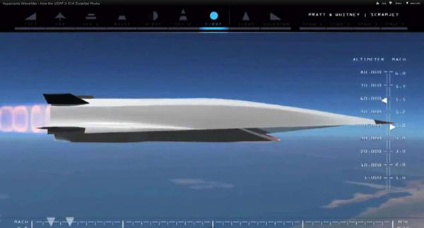 Hypersonic aircraft to go 5 times speed of sound