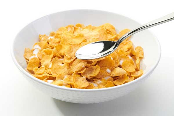 Cornflakes lead gain weight!