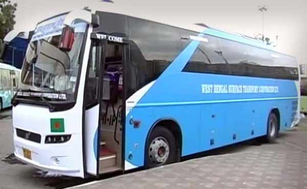Kolkata-Dhaka-Agartala bus reaches Tripura from Bangladesh