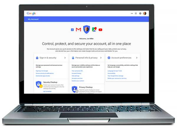 Google unveils privacy dashboard