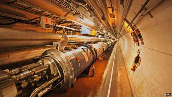 Large Hadron Collider turns on 'data tap'