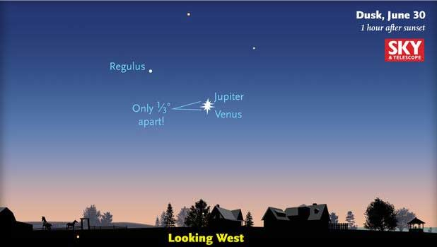 Venus, Jupiter to converge amazing night show
