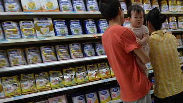 China in baby milk powder recall