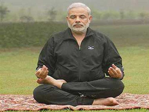 Modi to attend world's largest yoga session June 21