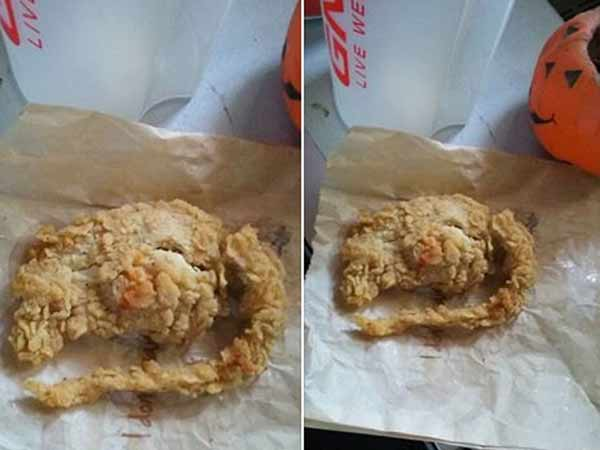 Is 'deep fried rat' found in KFC?