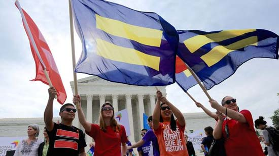 US Supreme Court rules same-sex marriage is legal nationwide