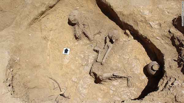 2,000-yr-old 'sleeping beauty'  found in Ethiopia