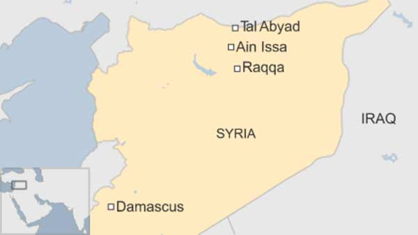 Kurds 'take key Syrian base' from IS