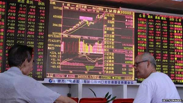 Most Asian shares slide as investors digest China data