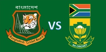 S Africa win toss, opt to bat against Bangladesh
