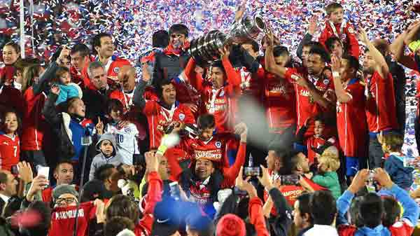 Chile beat Argentin to win Copa America