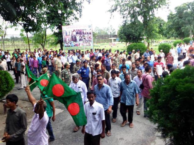 Bangladesh-India makes history at stroke of midnight