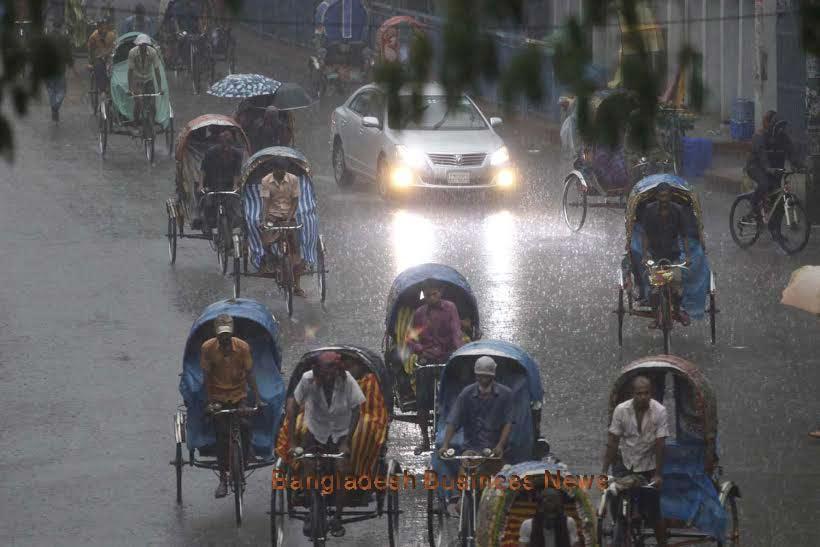 Rain continues across Bangladesh