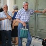 For Greek citizens, another day of queuing at the bank for a restricted sum of cash