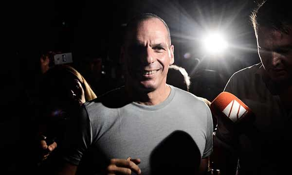 Greek finance minister resigns