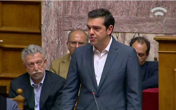 Greek PM 'focused on bailout deal'
