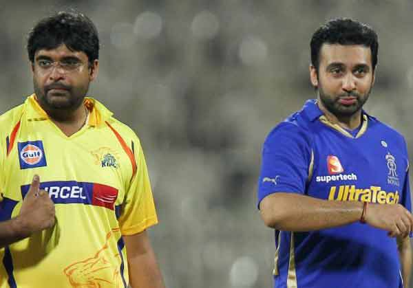 CSK, RR suspended from IPL for 2 years