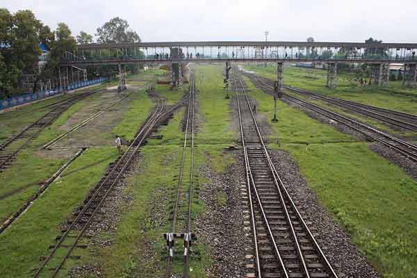 'No work on Tripura-Bangladesh rail link'