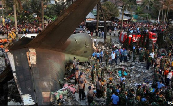 Indonesia plane crash death toll rises to 141