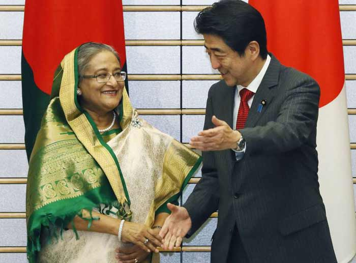 Japan beating China to the port in Bangladesh