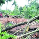Cyclonic storm Komen crosses Chittagong coast of Bangladesh