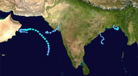 "The cyclonic storm ""Komen"" may cross Chittagong coast Thursday afternoon"
