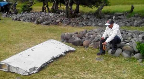MH370 search: Plane debris flown out of Reunion