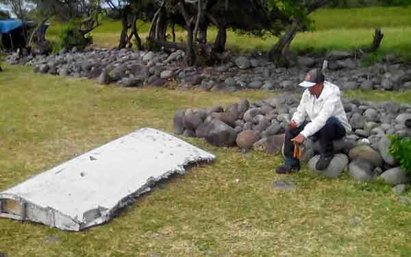 Wing part found on Reunion Island from MH370