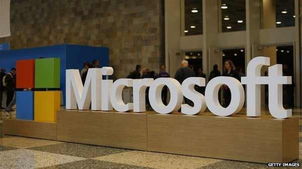 Writedowns put Microsoft in the red