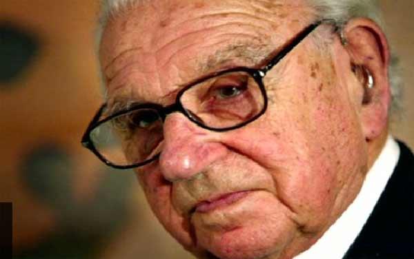 Holocaust 'hero' Sir Nicholas Winton dies aged 106