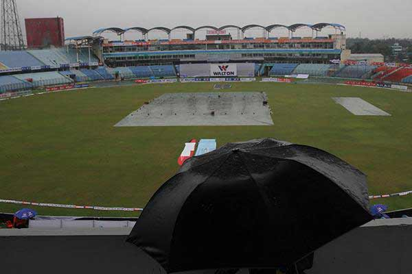 BAN v SA 2nd Test: Rain washes out Day 2 play