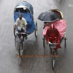 Rickshaw ride in Rain. Photo: BBN