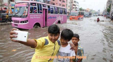 Rain in Dhaka