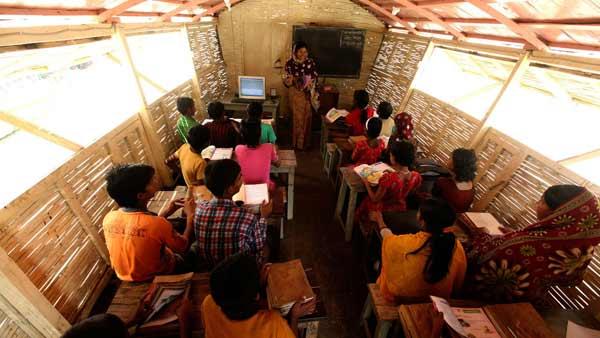Floating schools change education in Bangladesh