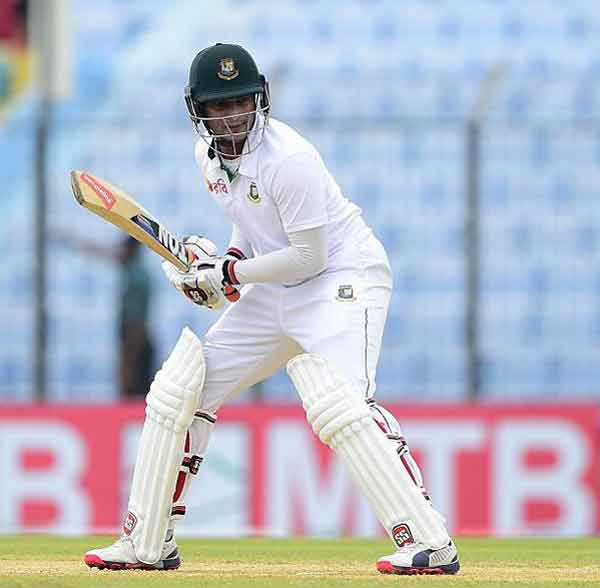 Liton, Shakib stretch Bangladesh lead to 78